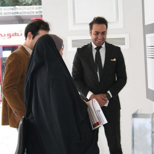 موسسه فنی مهندسی تیموری-نمایشگاه تهویه و تاسیسات-تهران آبان 1396