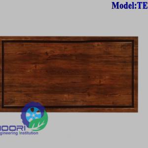 دریچه بازدید فنکوئل چوبی با روکش PVC